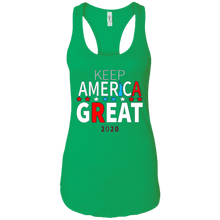 Load image into Gallery viewer, Green Trump - Keep America Great Tank Top