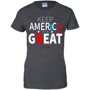 Grey Trump - Keep America Great T-shirt