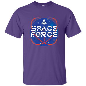 Purple Trump Space Force T-shirt
