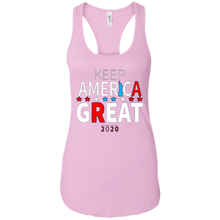Load image into Gallery viewer, Light Pink Trump - Keep America Great Tank Top
