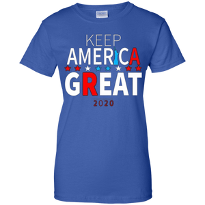 Royal Blue Trump - Keep America Great T-shirt