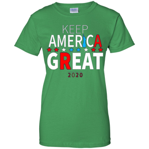 Green Trump - Keep America Great T-shirt