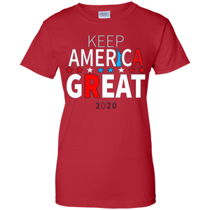 Red Trump - Keep America Great T-shirt