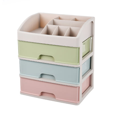 SB2 A - 3 Layer Storage Box / Shelf Organiser / Bathroom Make up drawer