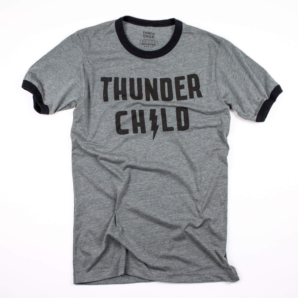 Thunder Child Ringer Tee - Womens