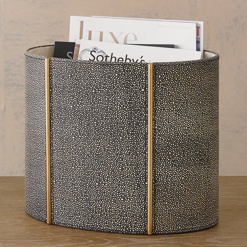 Studio A Churchill Oval Wastebasket