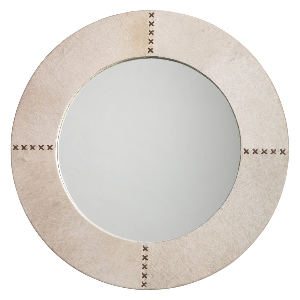 Jamie Young Cross Stitch Wall Mirror