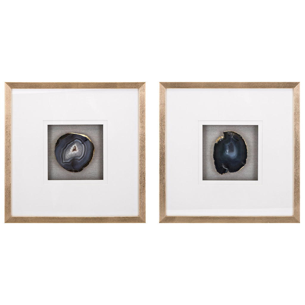 Agate Wall Decor Set of 2
