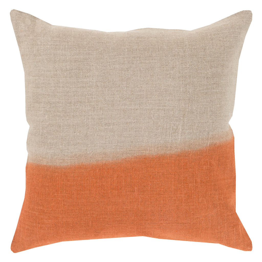 Topanga Dip Dyed Throw Pillow