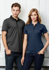 Biz Collection P501MS Mens Shadow Polo
