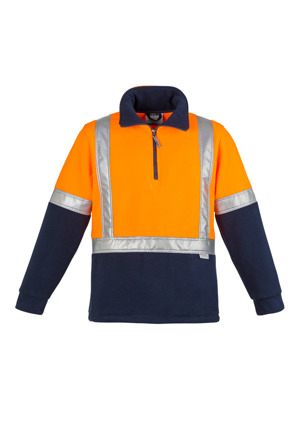 Syzmik ZT462 Mens Hi Vis Fleece Jumper - Shoulder Taped