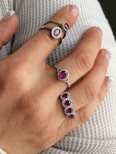 Shop Ruby Birthstone Jewelry
