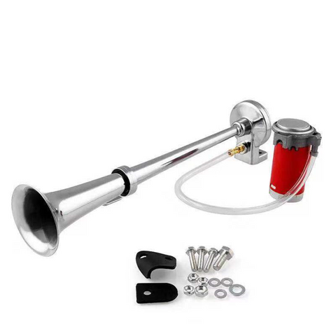 Image of 150 DB Train Horn with Air Compressor - Car Train Horn Kit