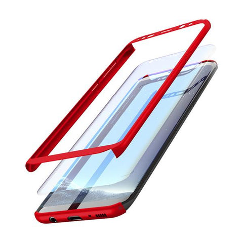 Image of Samsung Hybrid 360 Case + Free Screen Protector for Samsung Galaxy