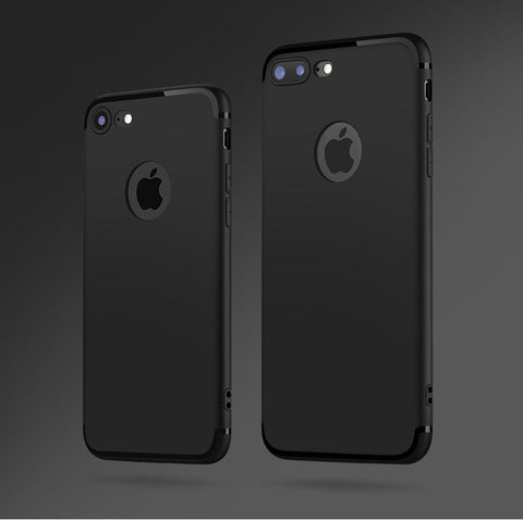 Image of Dirtproof Ultra-Thin Flip TPU Rubber Case for iPhone
