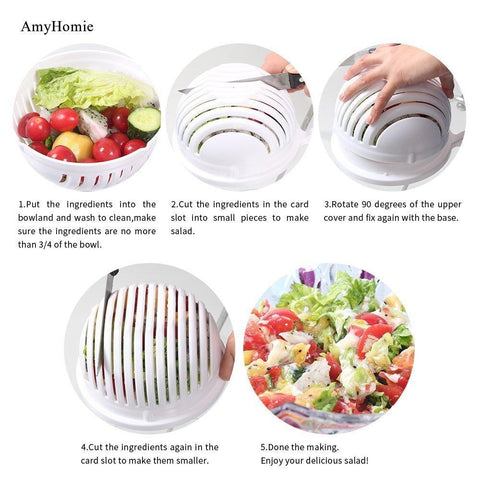Salad Bowl Maker
