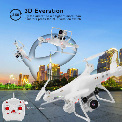 Image of Wifi Drone Splash Auto with 1080p Camera Live Video and GPS