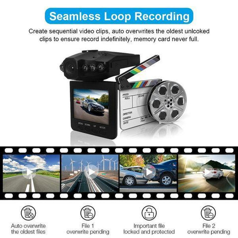 270 Degree HD Dash Cam Recorder