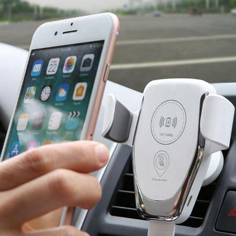 Super Fast Wireless Car Charger for iPhone & Samsung