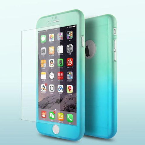 Image of Ultra-Thin Shockproof Colorful Case For iPhone
