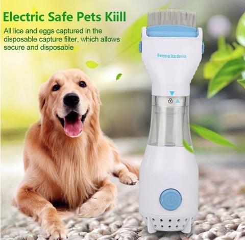 Image of Electric Flea Comb Pet