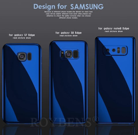 Ultra Thin Mirror 360° Full Protection Case for Samsung