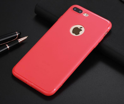 Image of Flip Bumper Gel TPU Rubber Case For iPhone