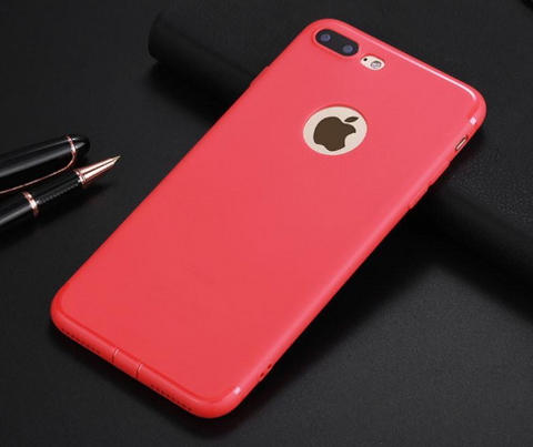 Dirtproof Ultra-Thin Flip TPU Rubber Case for iPhone
