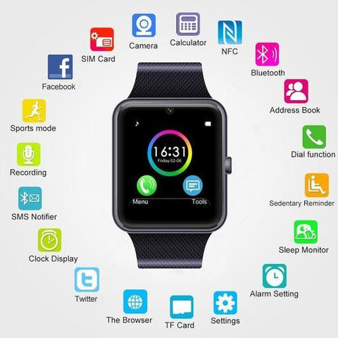 Image of Bluetooth Smart Watch for Android/iPhone