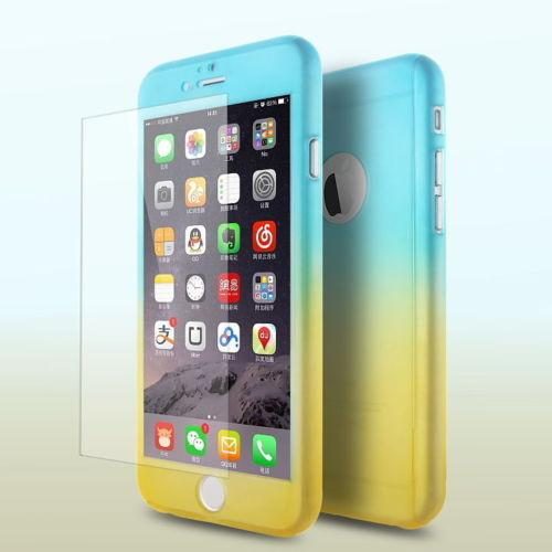 Ultra-Thin Shockproof Colorful Case For iPhone