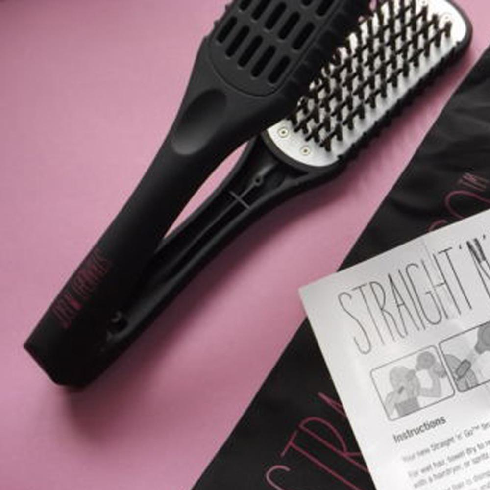 Straight N Go Hair Straightening Brush