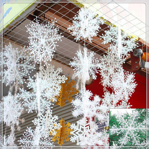 Image of Christmas Party Snowflake 90pcs