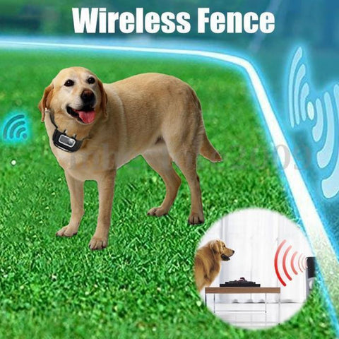 Image of Waterproof  Wireless Dog Fence With Collar