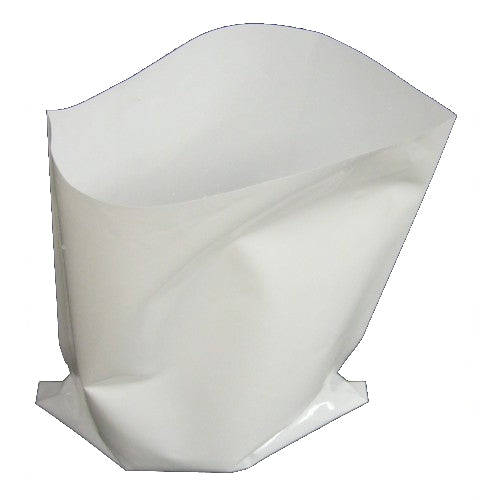 568ml (1 pint) plain white milk bags (Pack of 100)