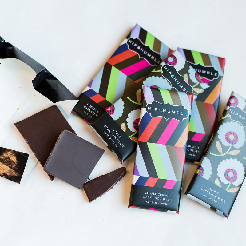 Hip & Humble - Chocolate Bars in Coffee and Maple