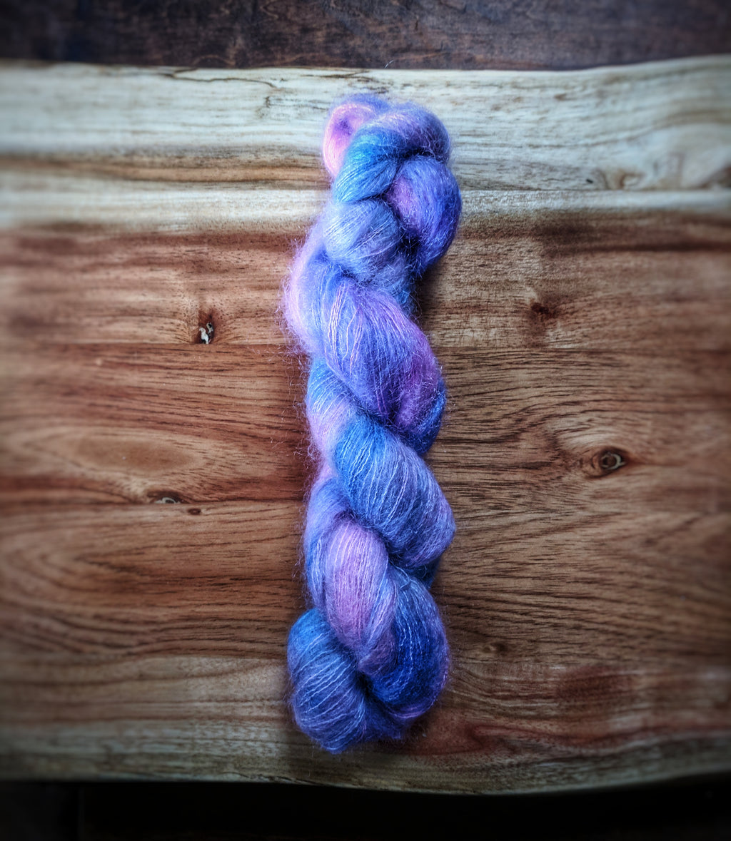 Cotton Candy at the County Fair on Aura Mohair