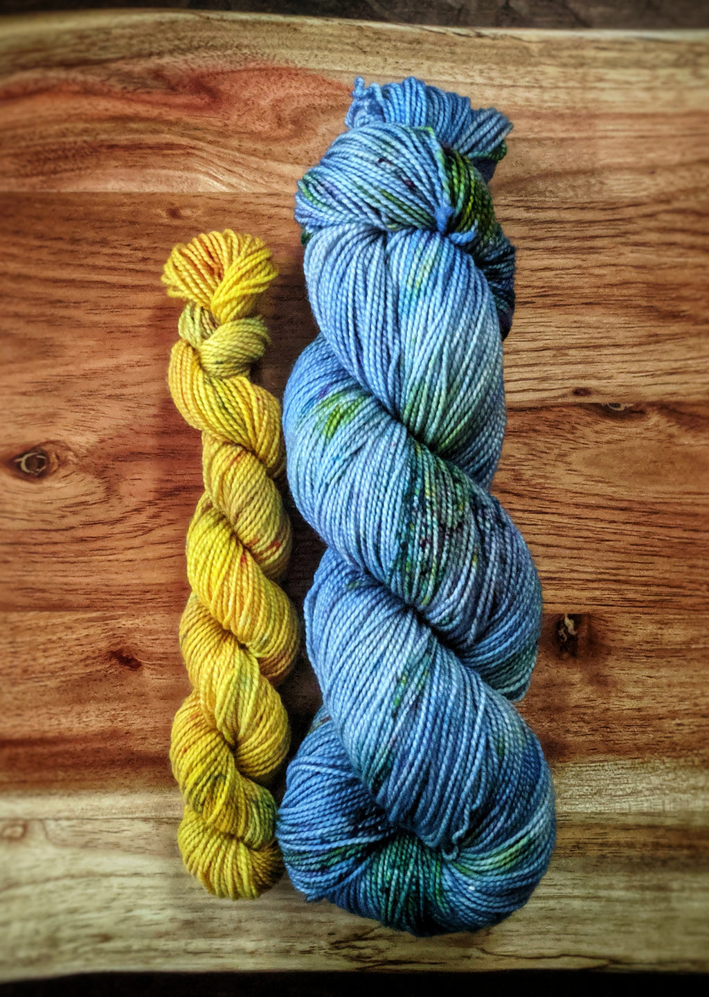 Moonshadow and Sunburst Sock Set on Rugged Sock