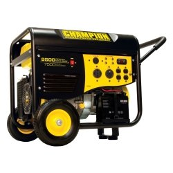 7500/9500 Watt Portable Gas-Powered Generator with Electric Start Tools Equipment Hand Tools