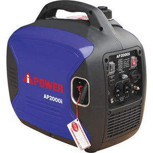 A-Ipower 2000-Watt Gasoline Powered Inverter Generator Powered By Yamaha Engine