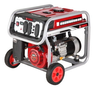 A-iPower 3,750-Watt Gasoline Powered Manual Start Generator