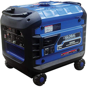 2800 Watts Inverter Generator, Gasoline, Recoil Start, 120/240V, Lot of 1