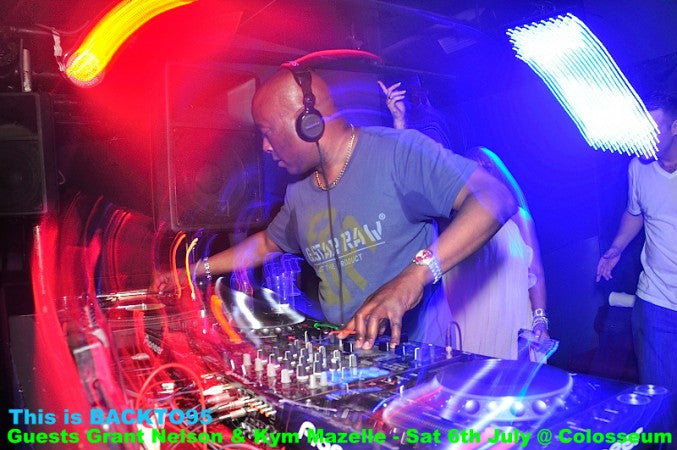 BACKTO95 - SUMMER OLDSKOOL SESSIONS - CLUB COLOSSEUM - 6 JULY 2013