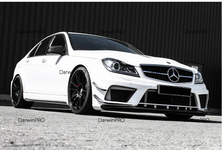 Darwin Pro - 2012-2014 Mercedes Benz C63 4DR Sedan AMG Black Series BE Style Full Wide Body