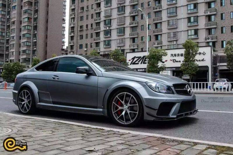 Darwin Pro - 2012-2014 Mercedes Benz C63 2DR Coupe AMG Full BE Style Wide Body Kit Conversion
