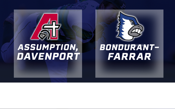 2017 Baseball Class 3A Quarterfinal (Assumption, Davenport vs. Bondurant-Farrar) - Digital Download