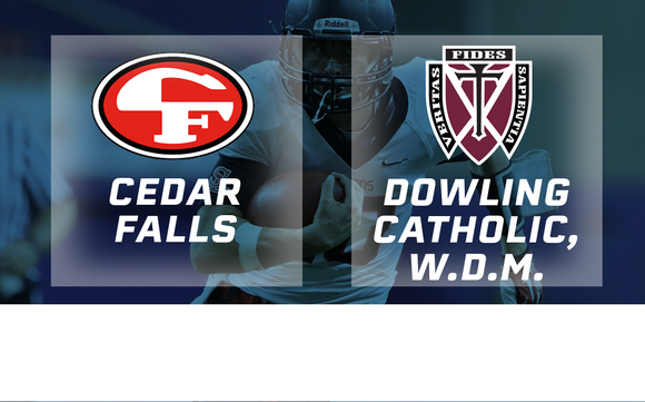 2018 Football Class 4A Championship (Cedar Falls vs. Dowling Catholic, W.D.M.) Digital Download