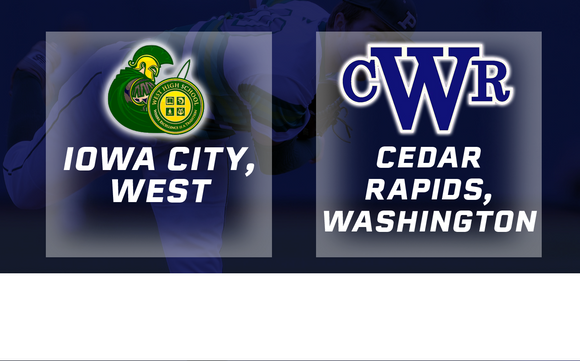 2017 Baseball Class 4A Quarterfinal (Iowa City, West vs. Cedar Rapids, Washington) - Digital Download