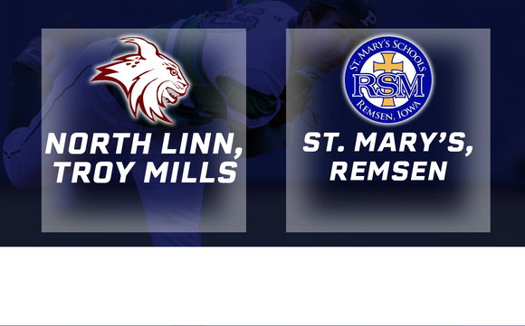 2018 Baseball Class 1A Quarterfinals (North Linn, Troy Mills vs. St. Mary's, Remsen) - Digital Download