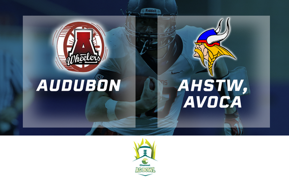 2015 Football Channel Seed Ag Bowl (Audubon vs. AHSTW, Avoca) - Digital Download
