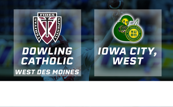 2017 Football Class 4A Final (Dowling Catholic, WDM vs. Iowa City, West) - Digital Download